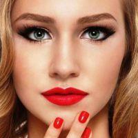 красивый легкий макияж для зеленых глаз 4