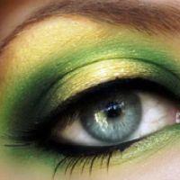 красивый легкий макияж для зеленых глаз 7
