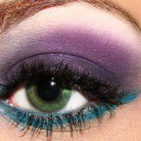 красивый легкий макияж для зеленых глаз 8