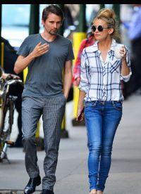 Кейт Хадсон с бывшим женихом на прогулке