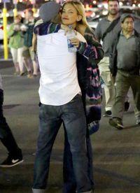 Кейт Хадсон в обнимку с Дереком Хафом