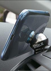 магнитный держатель для телефона steelie