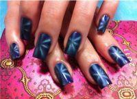 Магнитный лак для ногтей 4