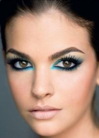 макияж для больших карих глаз 2