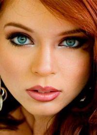 макияж для больших зеленых глаз 2