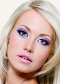 макияж для больших голубых глаз 1