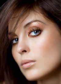макияж для маленьких круглых глаз 6