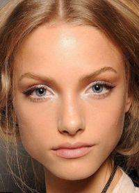макияж для маленьких круглых глаз 7