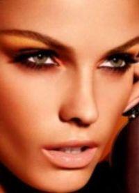 макияж кошачий глаз1