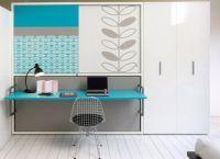 мебель трансформер кровать стол1