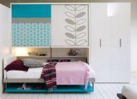 мебель трансформер кровать стол2