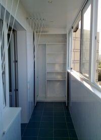 Шкафы для балконов и лоджий 1
