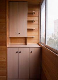 Шкафы для балконов и лоджий 2