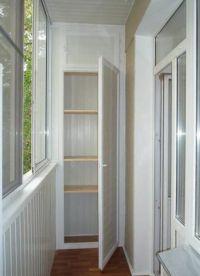 Шкафы для балконов и лоджий 3