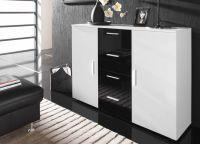 Мебель для спальни белый глянец11