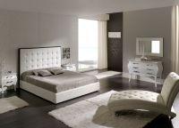 Мебель для спальни белый глянец3