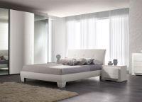 Мебель для спальни белый глянец8