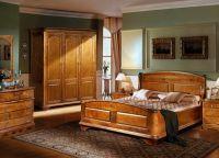 Спальни из массива дерева 1