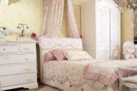 Белая спальня из массива дерева 1