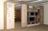Шкаф в спальню из массива дерева 2