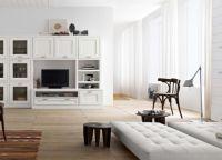 Мебель под телевизор в современном стиле4