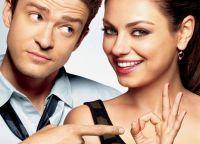 Мила Кунис и Джастин Тимберлейк - красивая пара