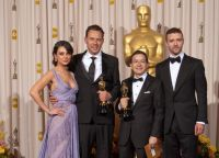 Джастин Тимберлейк и Мила Кунис на Оскаре