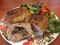 рецепт зразы мясные с грибами