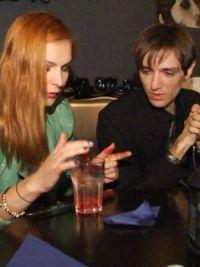 Шепс и Керро в кафе