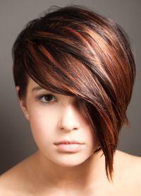 модное окрашивание на короткие волосы 2016 2