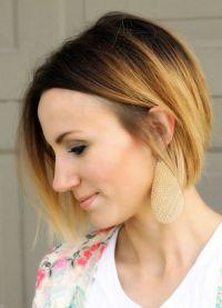 модное окрашивание на короткие волосы 2016 5