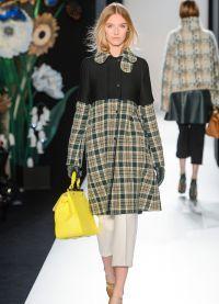 модное пальто осень 2015 цвета стили фасоны9