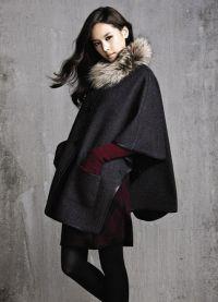 модное пальто осень 2015 цвета стили фасоны8