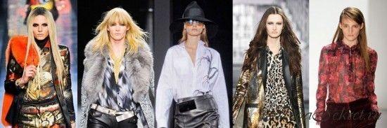Модные блузки осень-зима 2012-2013