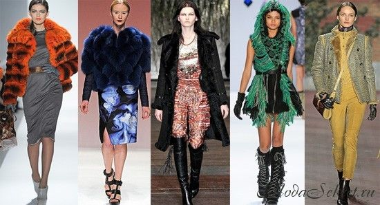 Модные цвета зимы 2014-2015