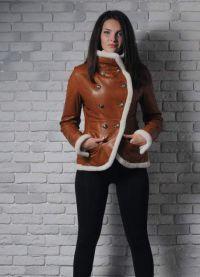 Модные дубленки зима 2016 9