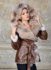 Модные дубленки зима 2016 4