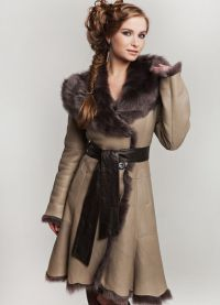 Модные дубленки зима 2016 5
