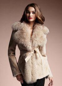Модные дубленки зима 2016 6