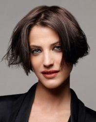 Модные стрижки 2012 - Волосы средней длины