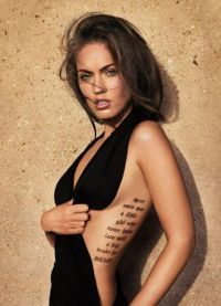 Модные татуировки 2013 8