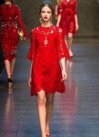 Модные вечерние платья 6