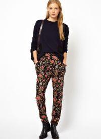 модные женские брюки осень зима 2015 2016 9
