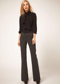 модные женские брюки осень зима 2015 2016 6