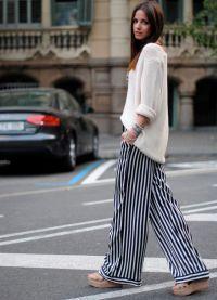модные женские брюки осень зима 2015 2016 8