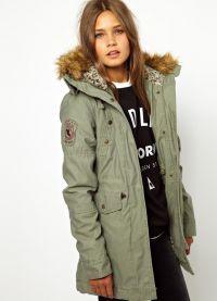 Молодежные куртки-парки 2