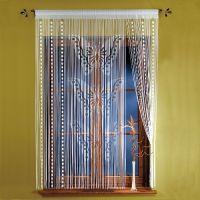 Нитяные шторы в интерьере4