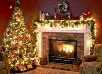 Новогоднее оформление дома1