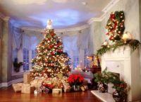 Новогоднее оформление дома2