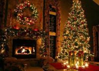 Новогоднее оформление дома8